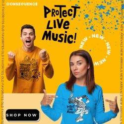 Support Live Music with Benefit Shirts