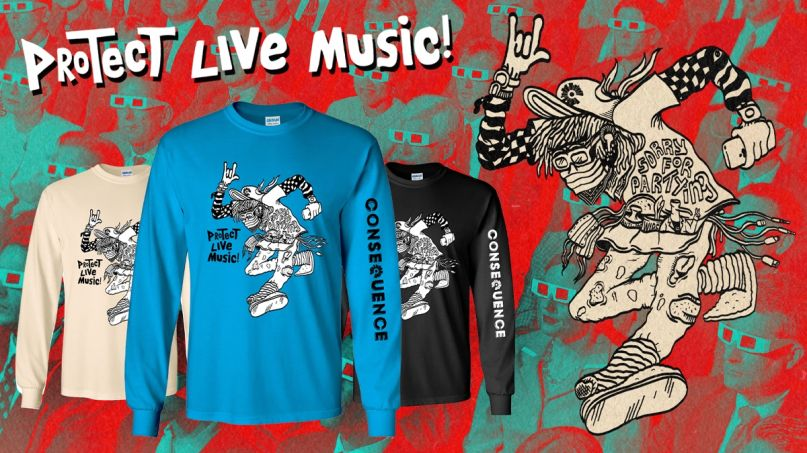 protect live music shirt 2 niva independent venues support niva