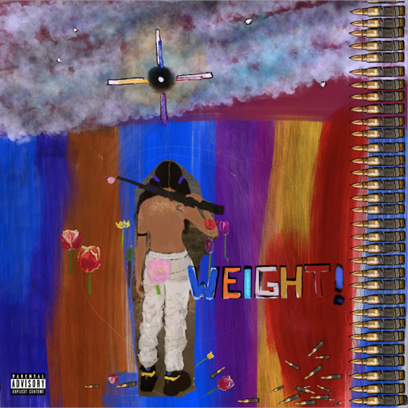 weight single artwork Angel Haze Returns with New Song Weight: Stream