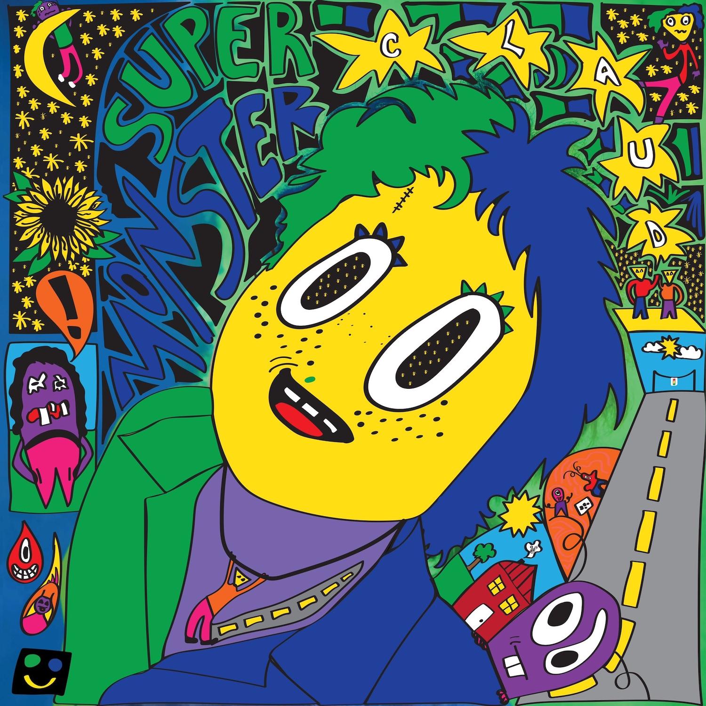 Claud Super Monster Album cover artwork track by track stream