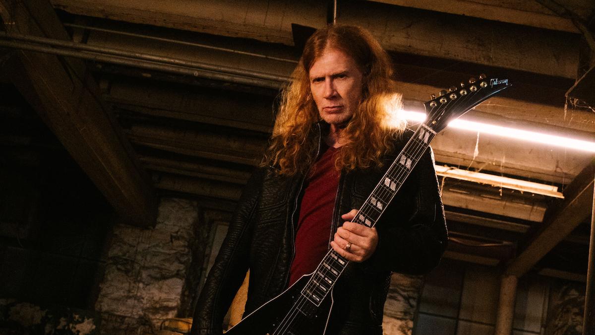 Дэйв Мастейн и Гибсон из Megadeth объявляют о партнерстве и создании новой линейки гитар