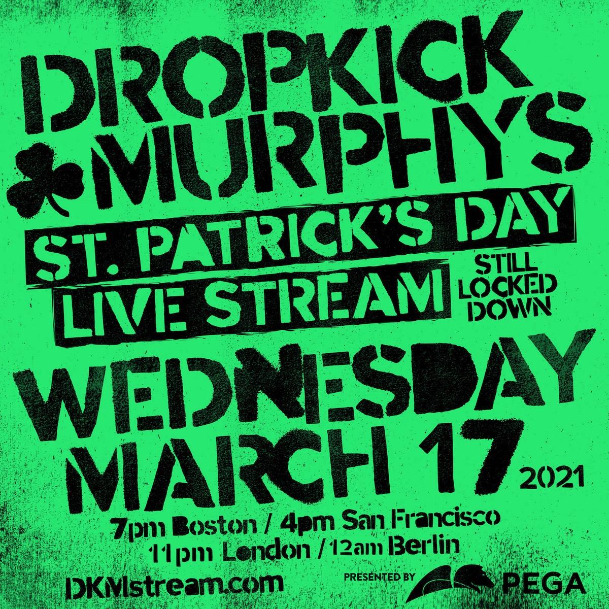 Dropkick Murphys Stream 2021