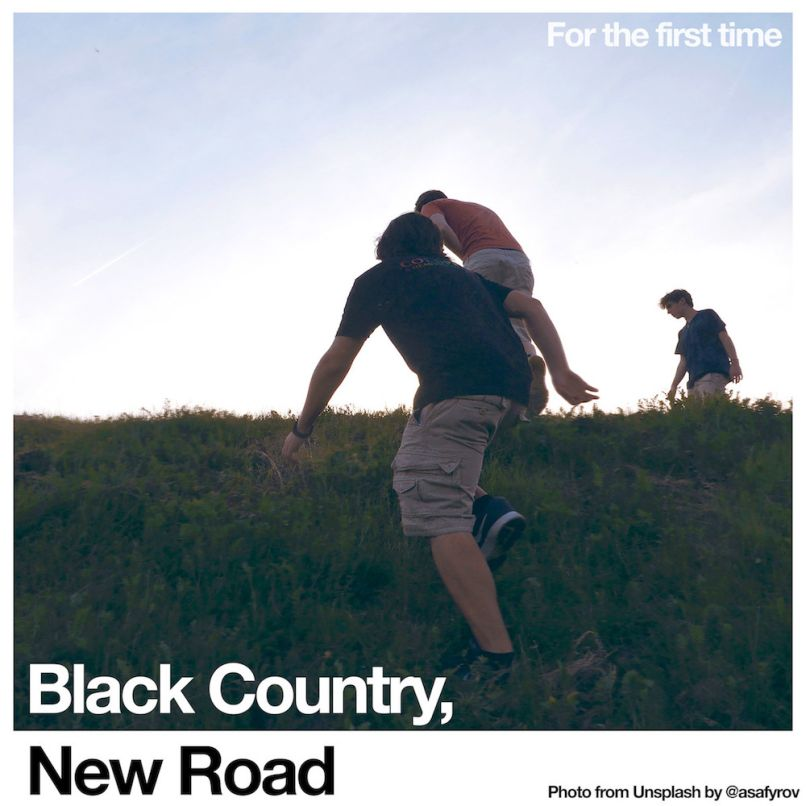 For the first time by Black Country, New Road album artwork cover art