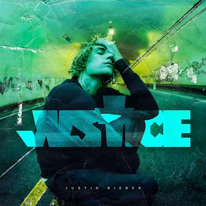 Justin Bieber Justice artwork