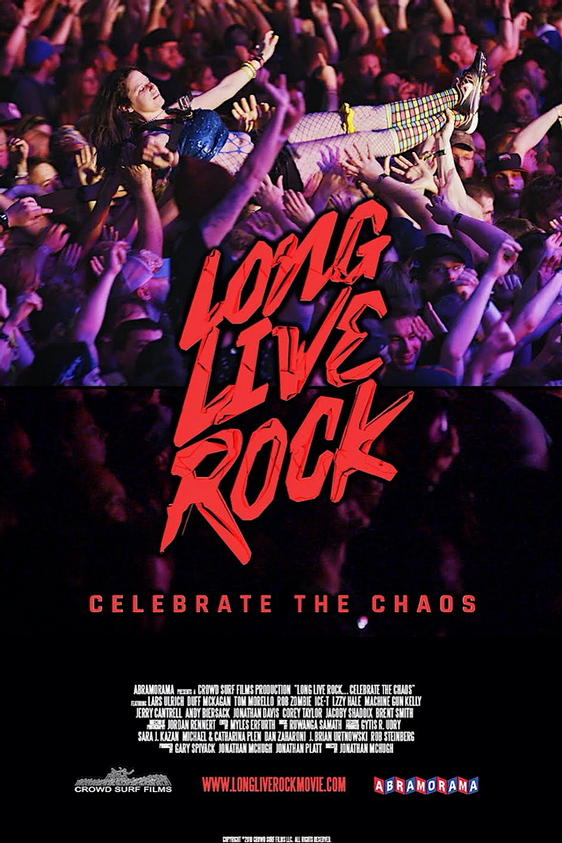 Long Live Rock movie poster