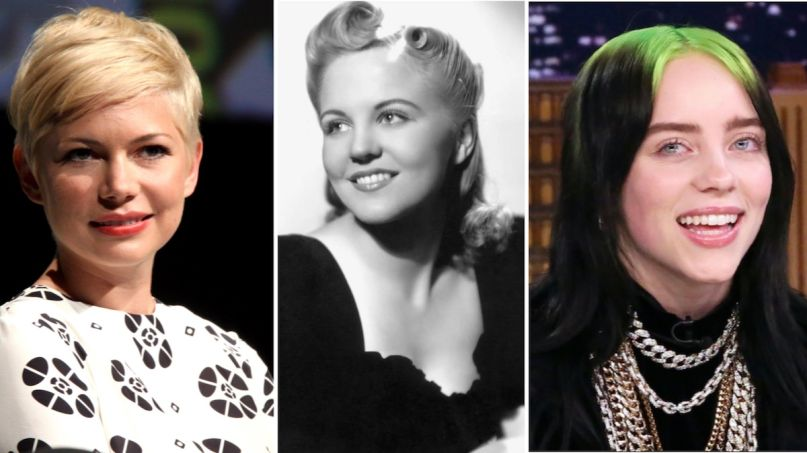 Michelle Williams Peggy Lee and Billie Eilish