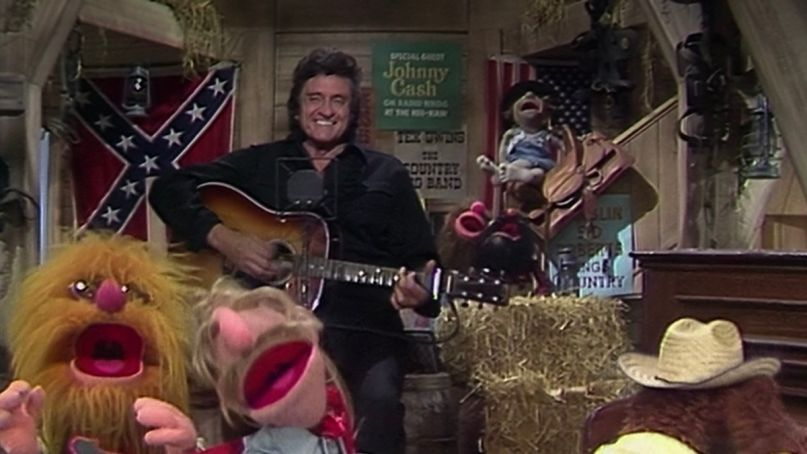 Johnny Cash on The Muppet Show