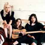 Phoebe Bridgers, Julien Baker, and Lucy Dacus, photo by Lera Pentelute
