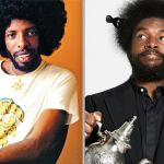 Questlove Sly Stone documentary movie film director Sly Stone (photo by Herb Greene) and Questlove (photo by Mackenzie Stroh)