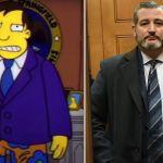 The Simpsons Ted Cruz vacation prediction Mexico trip predictions FOX