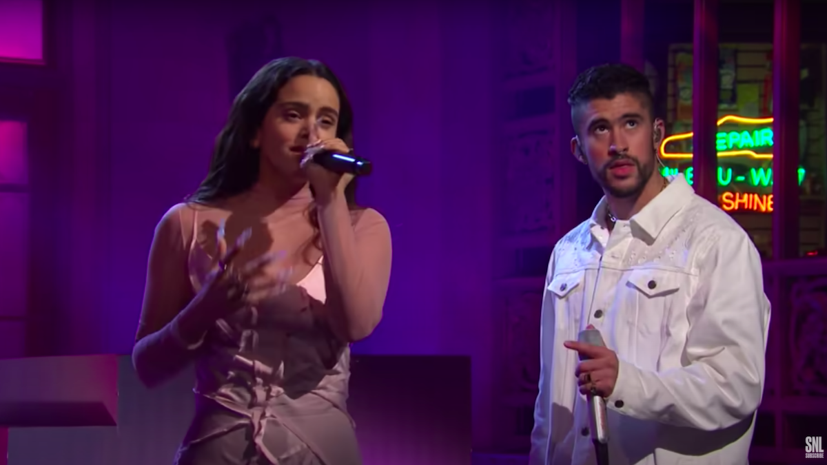 Плохой Банни и Розалия кипятят во время исполнения «La Noche de Anoche» на SNL: Смотреть