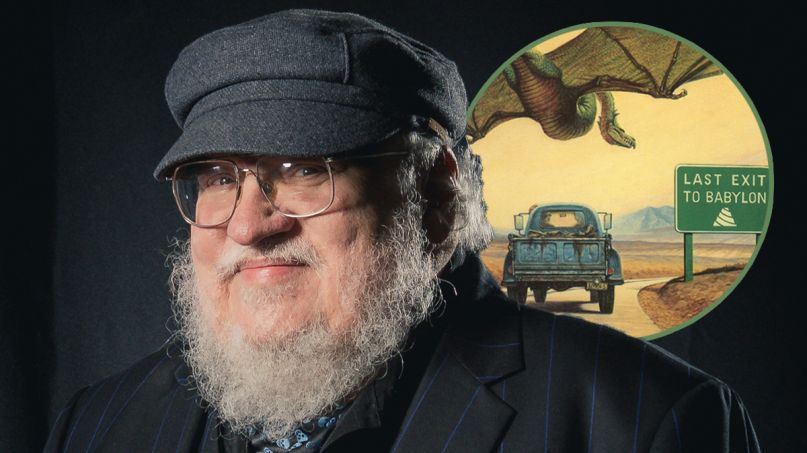 george r.r. martin roadmarks tv series show hbo
