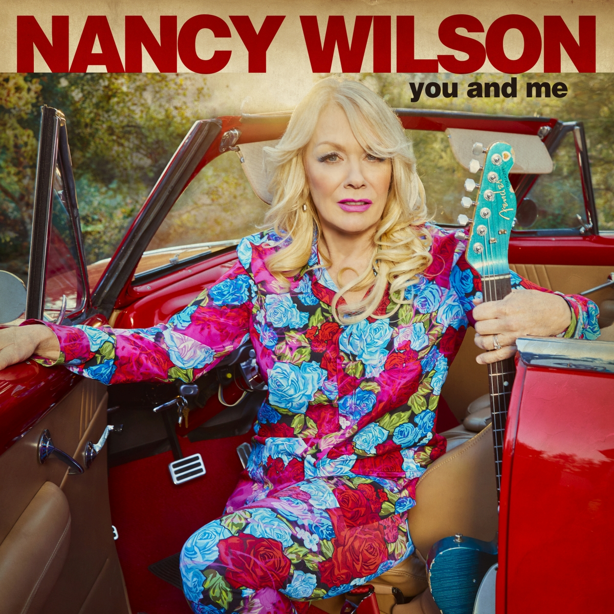 nancy wilson heart debut solo album you and me cover art