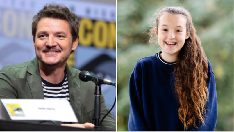 pedro pascal bella ramsey last of us hbo