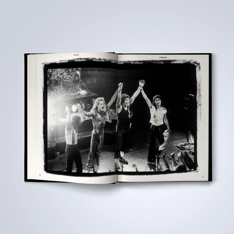 spread3 800x800 1 Фотокнига Эдди Ван Халена известного рок-фотографа Росса Халфина должна выйти в июне