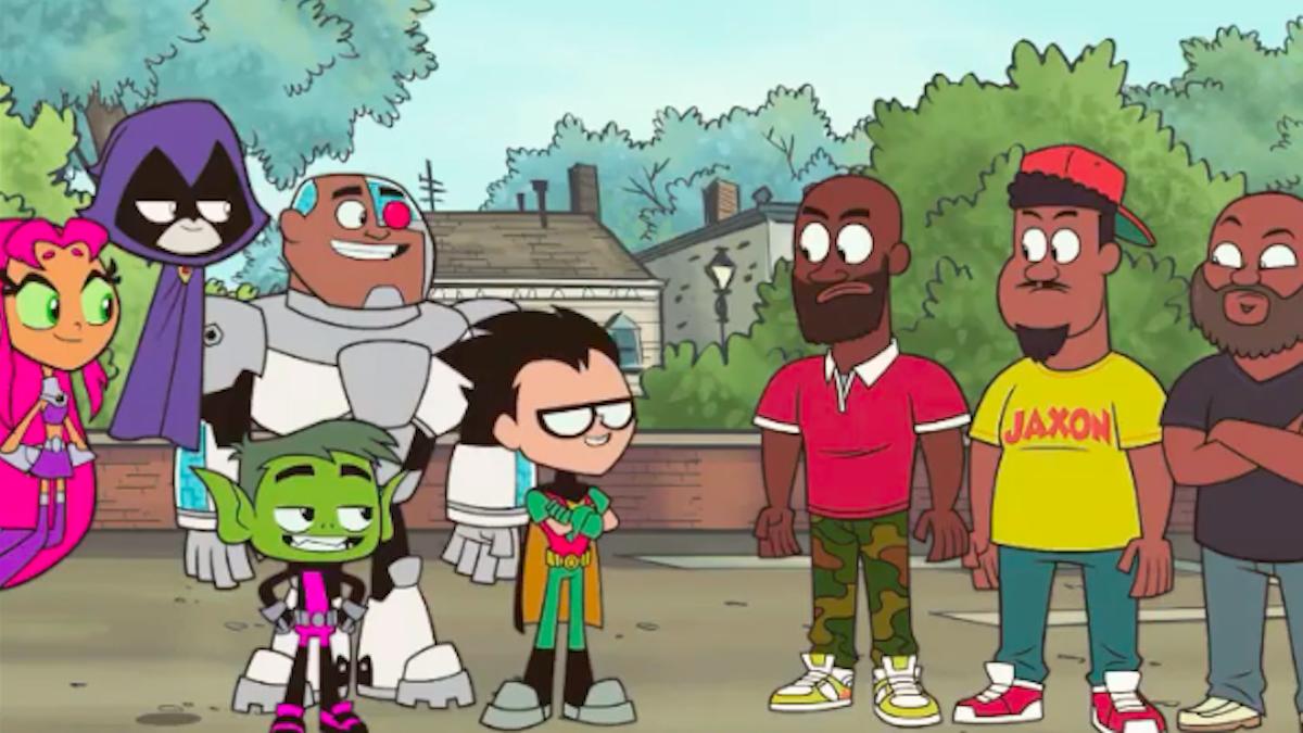 De La Soul пытаются сохранить свою музыку в мета-появлении на Teen Titans Go !: Смотреть