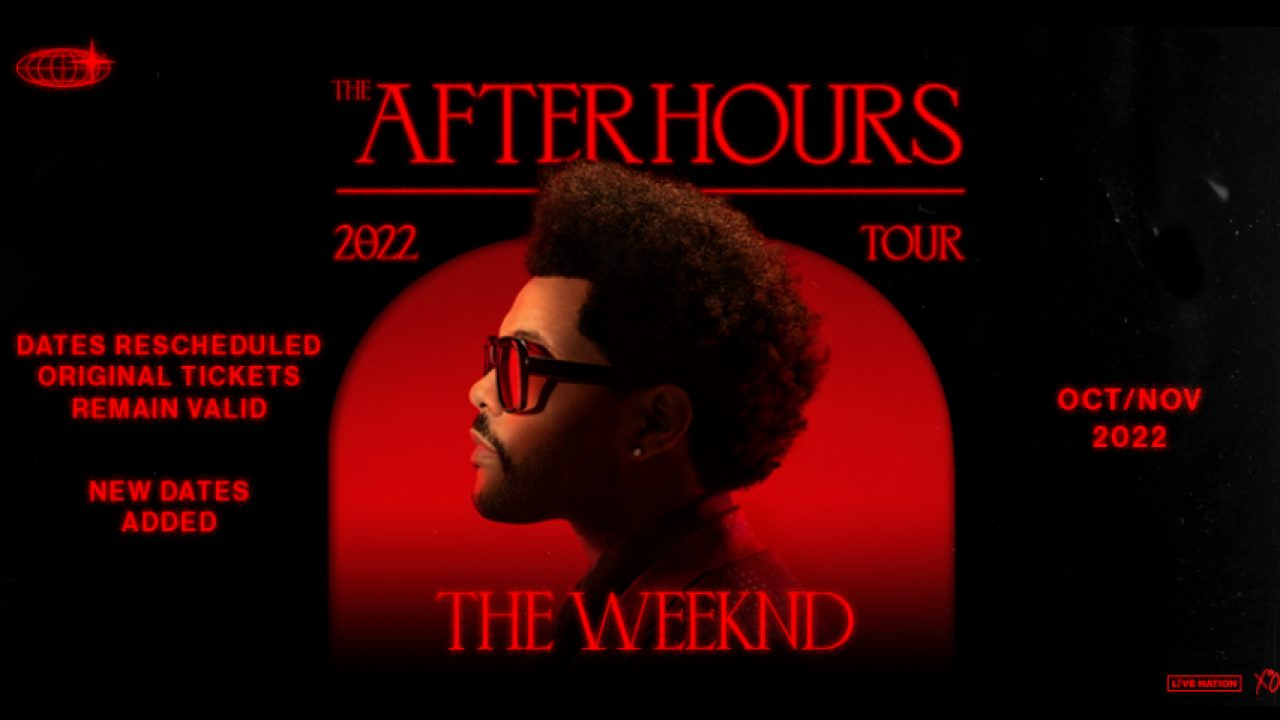 the weeknd after hours world 2022 tour dates The Weeknd Announces 2022 After Hours Tour Dates