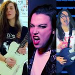 Lizzy Hale and Members of Code Orange, Baroness Cover Pantera
