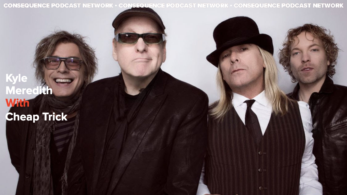"""Cheap Trick's Rick Nielsen: """"I Think We're A Lot of People's Fifth Favorite Band"""""""