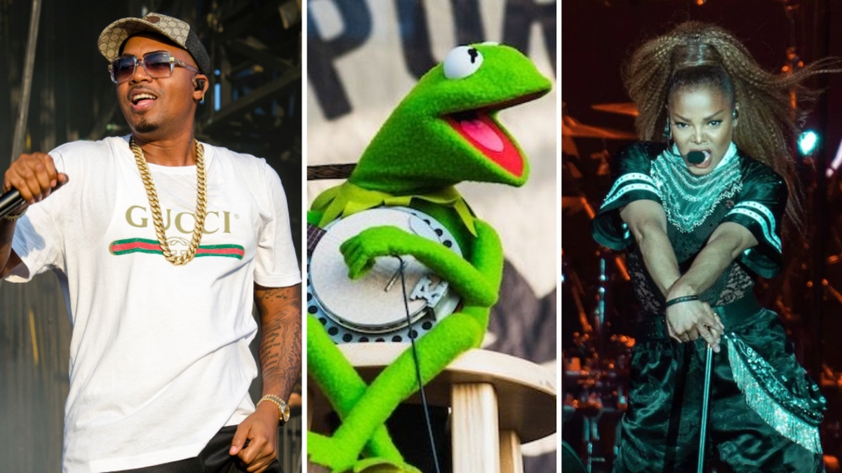 Nas, Janet Jackson, And Kermit The Frog Archived Into Library Of Congress -  WorldNewsEra