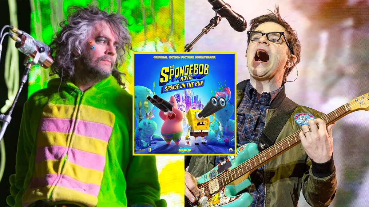 New Weezer, The Flaming Lips featured on The SpongeBob Movie: Sponge on the Run soundtrack: Stream