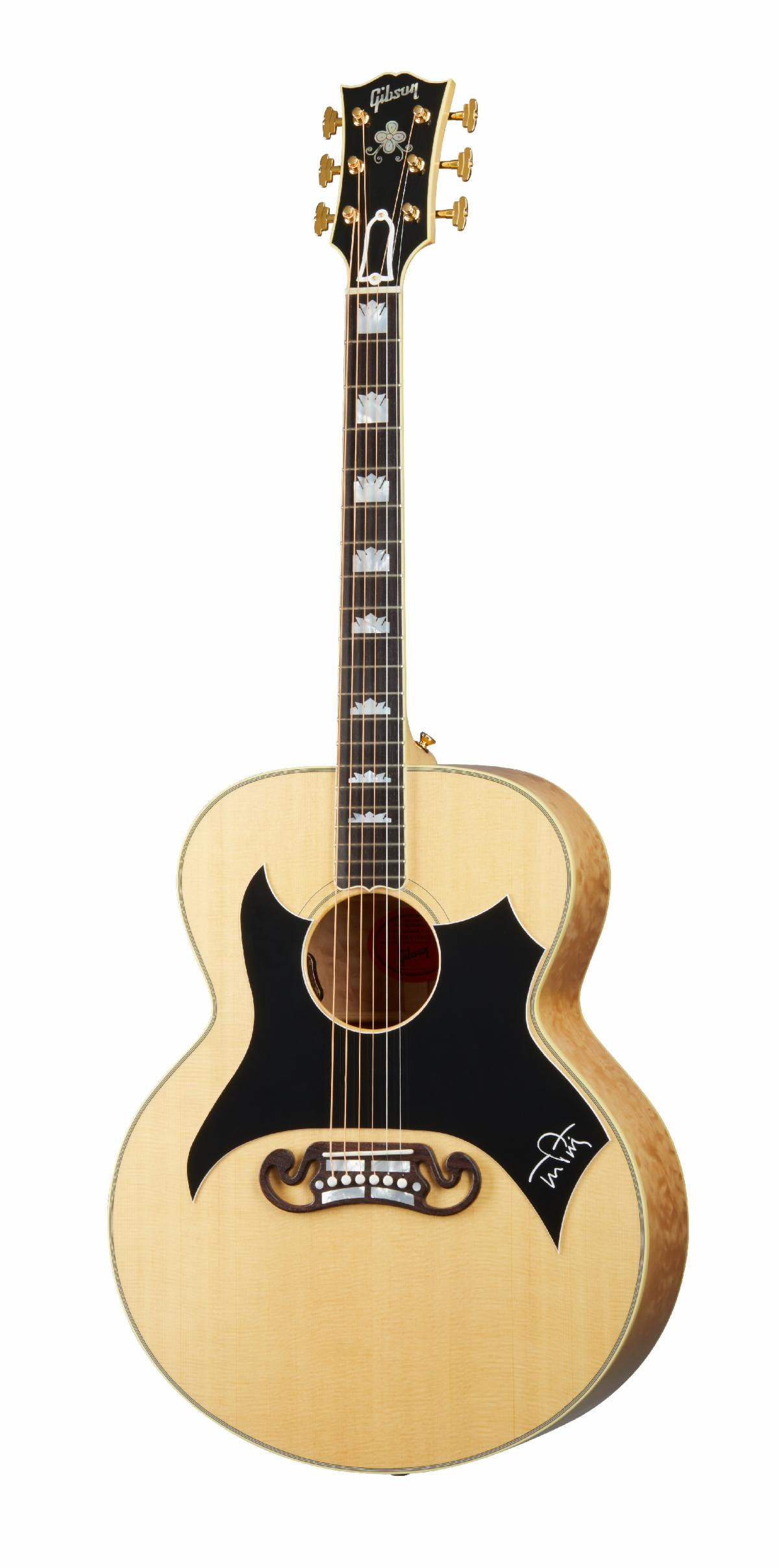 unnamed 6 Gibson Unveils Tom Petty SJ 200 Wildflower Acoustic Guitar
